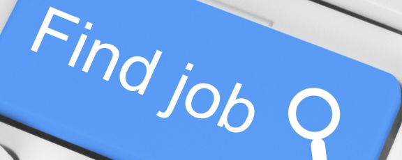 blue find job computer button